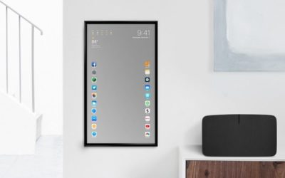A MIRROR THAT DOES EVERYTHING AN IPHONE CAN DO IS WHAT I WANT FOR CHRISTMAS